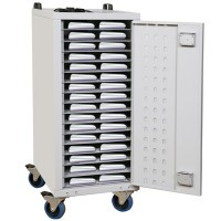 6932 Lapbank Premium Security Chromebook Charging trolley fo 32 x up to 12 inch