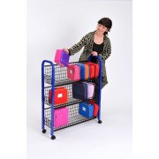 Mobile Lunchbox Trolley - Single & Double Sided