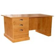 Compact Pine Study Desk