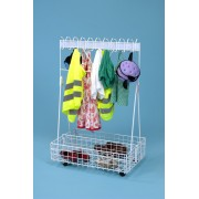 Mobile Cloakroom Trolley - Budget