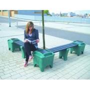 Corner Modular Bench