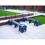 U Shape Modular Bench