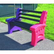 2 Person Single Multicoloured Seat