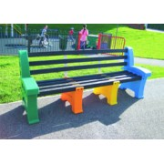 4 Person Single Multicoloured Seat