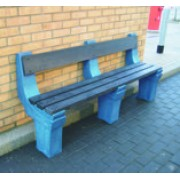 4 Person Wall Mounted Seat