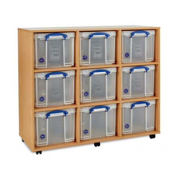 sc 1 st  Transform Designs & 9 x 35 Litre Really Useful Box Storage Unit