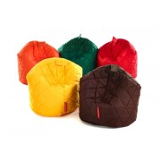 Small Quilted Outdoor Beanbags - Set of 6