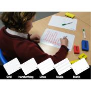 A4 Plastic Lap Board Handwriting / Plain ( Pack of 30 )