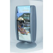 Panorama Leaflet Holders Freestanding 1/3 A4 Double