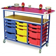 Multi Purpose Music Trolley
