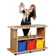 Mobile Musical Instrument Trolley and Beech Caracass