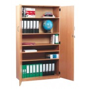 Stock Cupboard with 1 Fixed and 4 Adjustable Shelves with Lockable Door