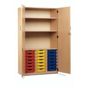 21 Tray Unit with Full Lockable Doors
