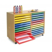 24 Art Tray Storage Unit