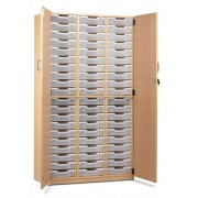 60 Tray Unit with Full Lockable Door