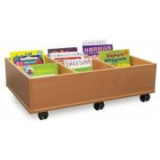 6 Bay Kinderbox with Castors