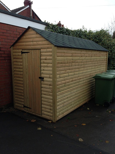Strong storage sheds